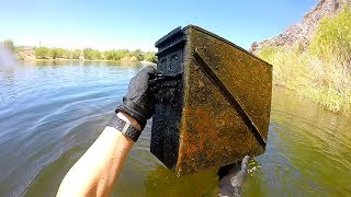 River Treasure: I Found a Metal Box Underwater in the River! (Unexplained)
