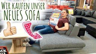 Wir kaufen unser neues Sofa! | Umzugsvlog #1