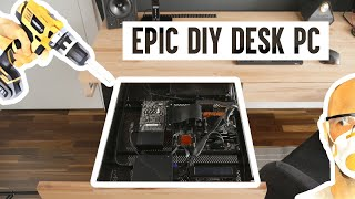 How to make a desk PC for adults (DIY desk PC)