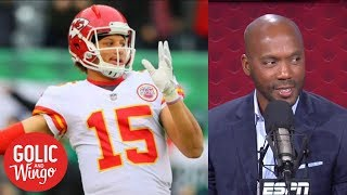 Louis Riddick is all in on Pat Mahomes for 2018 | Golic & Wingo | ESPN
