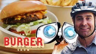 MythBusters Tory Belleci Tests the Ultimate Burger Robot   The Burger Show