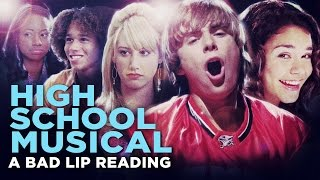 """HIGH SCHOOL MUSICAL: A BAD LIP READING"" -- Bad Lip Reading and Disney XD Present:"