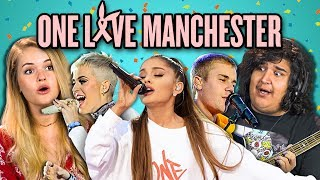 ADULTS REACT TO ONE LOVE MANCHESTER CONCERT