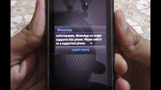 WhatsApp finally stops working in Symbian S60 phones (Nokia N8 etc)
