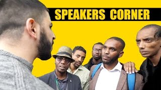 WHEN 5 CHRISTIANS WENT SILENT || SPEAKERS CORNER