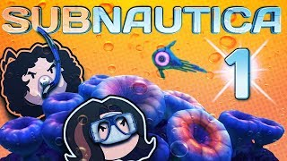Subnautica: Wet, Wild, Wacky - PART 1 - Game Grumps