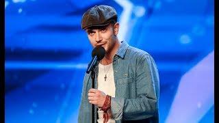 AMAZING SINGER BLOWS judges AWAY!   BRITAINS GOT TALENT 2018   Aleksandar Mileusnic