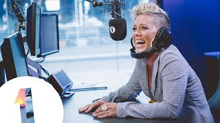 P!nk Forgets Her Own Lyrics!!