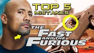 Top 5 Movie Mistakes - The Fast & Furious Franchise (HD) Vin Diesel, Dwayne Johnson, Paul Walker