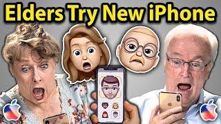 Elders Try To Use New iPhone XS | Elders React