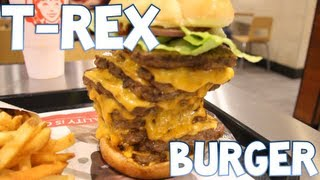 T-Rex Burger From Wendy