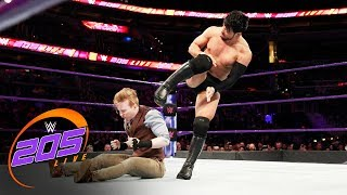 Hideo Itami vs. Gentleman Jack Gallagher: WWE 205 Live, Jan. 23, 2018