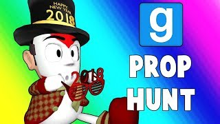 Gmod Prop Hunt Funny Moments - Secret Vending Machine Spot! (Garry