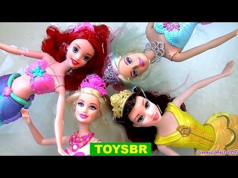 barbie super princesa videos en español