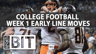 NCAA Football Week 1 Lines | Sports BIT | College Football Picks