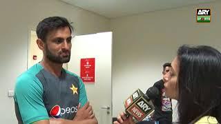 Shoaib Malik talks of his WC2019 target