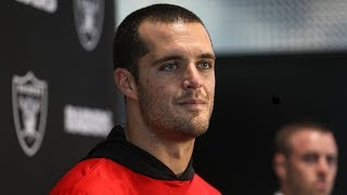 """QB Derek Carr: """"I just want to win"""" - 11.21.18"""