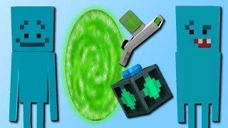 MeeCreeps Mod! (Helfer & Portale) [Rick and Morty Mod]