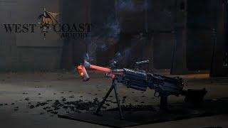Suppressor Meltdown! 700 round burst through an M249 SAW!