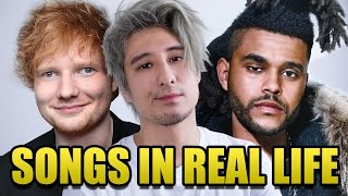 SONGS in REAL LIFE | Julien Bam