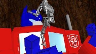 Transformers vs Terminator Animated Trailer