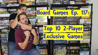 Top 10 Board Games Exclusive for Two Players