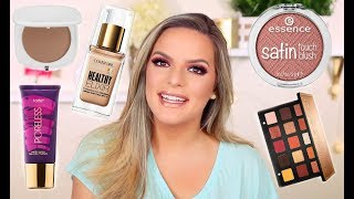 CHIT CHAT / GET READY WITH ME! TRYING NEW PRODUCTS   Casey Holmes
