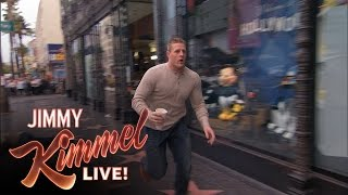 J.J. Watt Gets Jimmy Kimmel a Latte