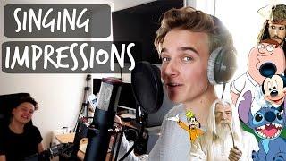 SINGING IMPRESSIONS WITH CONOR MAYNARD
