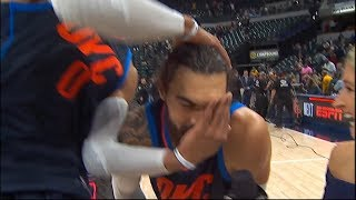 Steven Adams Postgame Interview / Thunder vs Pacers