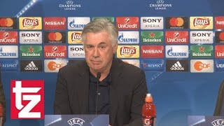 "FCB-Trainer Carlo Ancelotti: ""Würde gerne Cristiano Ronaldo auf der Bank sehen"""