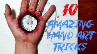 10 Amazing Hand Art Tricks