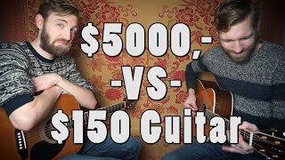$5000,- VS $150,- guitar | Sound Comparison | Martin D-42 |