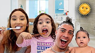 THE ACE FAMILY MORNING ROUTINE!!!