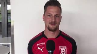 Hallescher FC: Neuzugang Hendrik Starostzik stellt sich vor