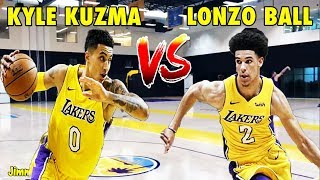 Lonzo Ball 1-on-1 against Kyle Kuzma | WHO WON?