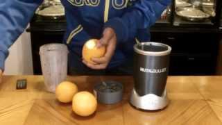 Nutribullet Recipes - Fresh 100% Organic Orange Juice
