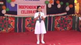 2014 INDEPENDENCE DAY SPEECH NISHITHA BY NISHITHA OF 6TH CLASS