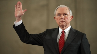 AMAZING: Jeff Sessions sworn-In and Speech as Attorney General!!!