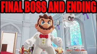 [NS] Super Mario Odyssey - Final Boss and Ending (HD)