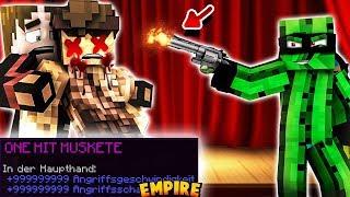 ANSCHLAG auf REWI - 1 HIT WAFFE SCHLÄGT ZU 🔴 Minecraft Empire #49