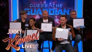 The Cast of Guardians of the Galaxy Vol. 2 Plays