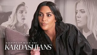 Kim Kardashian Is Concerned About Khloe's Troubled Relationship | KUWTK | E!