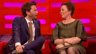 David Tennant & Olivia Colman's sexual tension - The Graham Norton Show: Series 16 - BBC One