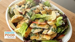 Crispy Chicken and Apple Salad - Everyday Food with Sarah Carey