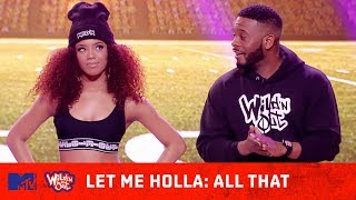 'All That' Cast Shocks the Crowd w/ Their Game 😂 | Wild