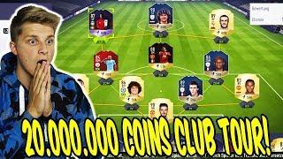 20.000.000 COINS CLUB TOUR! 🤑🔥 Meine ICONS,POTM,Fut Champions Karten - Fifa 18 Ultimate Team Deutsch