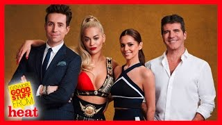 The X Factor judges reveal their categories!