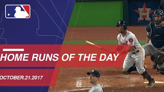 Check out both homers from ALCS Game 7: 10/21/1