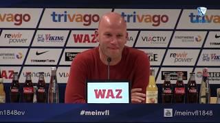 Die Pressekonferenz vor der Partie VfL Bochum 1848 - SV Sandhausen 1916